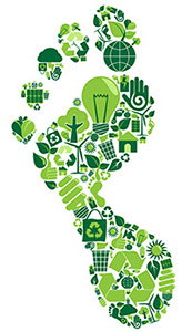 REDUCING YOUR CARBON FOOT PRINT